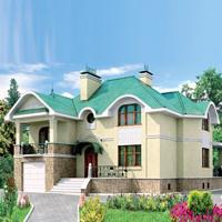 проект дома 30-13 общ. площадь 302,2м2
