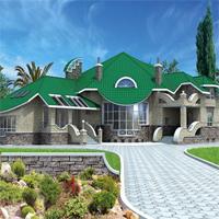 проект дома 31-23 общ. площадь 534,8м2