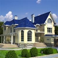 проект дома 32-23 общ. площадь 360,9м2