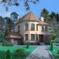 проект дома 32-25 общ. площадь 360,5м2