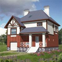 проект дома 30-03 общ. площадь 284,0м2