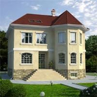 проект дома 31-89 общ. площадь 348,3м2