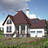 проект дома 30-04 общ. площадь 382,5м2