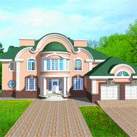 проект дома 31-25 общ. площадь 452,2м2