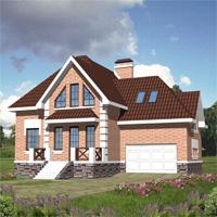 проект дома 30-15 общ. площадь 383,0м2