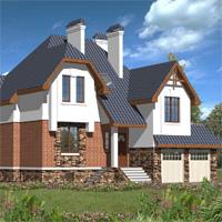 проект дома 30-19 общ. площадь 349,0м2