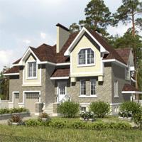 проект дома 32-17 общ. площадь 305,8м2