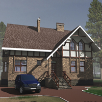 проект дома 33-91 общ. площадь 258,6м2