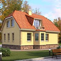 проект дома 33-86 общ. площадь 135,8м2