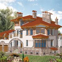 проект дома 33-76 общ. площадь 800,0м2