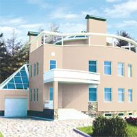 проект дома 33-99 общ. площадь 561,9м2
