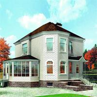 проект дома 80-03 общ. площадь 221,45м2