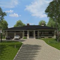 Каталог проекты домов из пеноблоков проект дома 90-01 общ. площадь 191,85м2