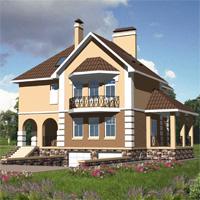 проект дома 30-02 общ. площадь 476,0м2