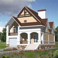 проект дома 30-07 общ. площадь 249м2