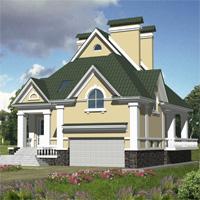 проект дома 30-08 общ. площадь 359,0м2