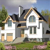 проект дома 30-09 общ. площадь 269,1м2