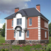 проект дома 30-11 общ. площадь 364,0м2