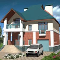 проект дома 30-18 общ. площадь 239м2