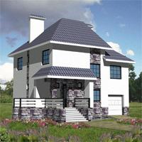 проект дома 30-20 общ. площадь 202м2