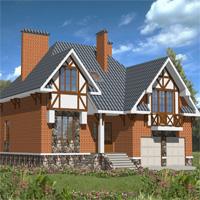 проект дома 30-21 общ. площадь 380,1м2