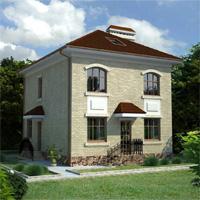 проект дома 33-17 общ. площадь 131,4м2