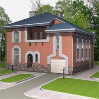проект дома 30-91 общ. площадь 301,4м2