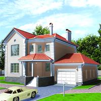 проект дома 30-92 общ. площадь 273,8м2