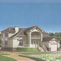 проект дома 31-56 общ. площадь 396,5м2