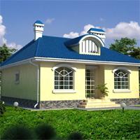 проект дома 33-18 общ. площадь 92м2