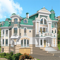 проект дома 34-12 общ. площадь 1254,1м2