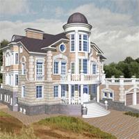 проект дома 34-22 общ. площадь 975,2 м2