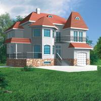 проект дома 31-81 общ. площадь 294,8м2