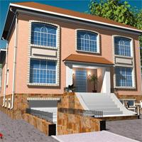 проект дома 32-11 общ. площадь 557,3м2