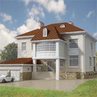 проект дома 32-22 общ. площадь 534,1м2