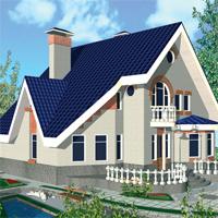 проект дома 32-72 общ. площадь 286.5м2