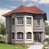 проект дома 32-75 общ. площадь 197,9м2