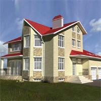 проект дома 32-82 общ. площадь 366,5м2