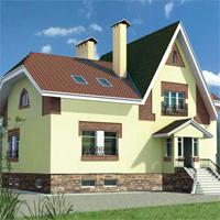 проект дома 32-85 общ. площадь 308,7м2