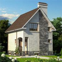 проект дома 32-99 общ. площадь 135,2м2
