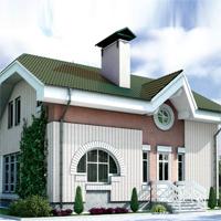 проект дома 34-58 общ. площадь 106,7м2