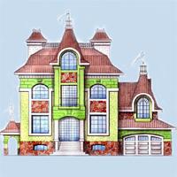 проект дома 34-67 общ. площадь 436,0м2