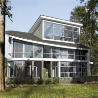 проект дома 32-18 общ. площадь 540,4м2