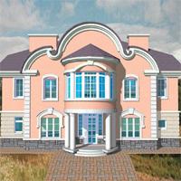 проект дома 34-09 общ. площадь 505,2м2