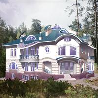 проект дома 34-18 общ. площадь 662,8м2