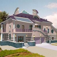 проект дома 34-19 общ. площадь 628,7м2