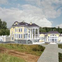 проект дома 34-20 общ. площадь 846,4м2