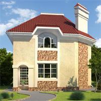 проект дома 34-72 общ. площадь 115,3м2