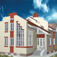 проект дома 34-85 общ. площадь 270,3м2