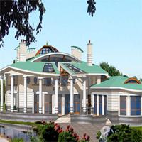 проект дома 35-33 общ. площадь 1143м2